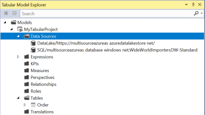 Azure Analysis Services New Data Source