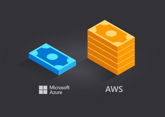Azure vs AWS pricing